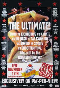 First UFC Poster